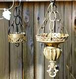 photos of Upcycled Bird Feeders