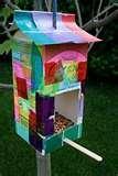 Bird Feeder Egg Carton photos