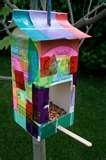 pictures of Bird Feeder Egg Carton