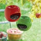 Bird Feeders Apple Shaped pictures