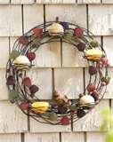 photos of Bird Feeder Wreath