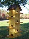 photos of Bird Feeders 4x4 Post