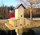 Bird Feeders 4x4 Post images