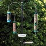 Bird Feeder Support Poles