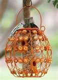 Bird Feeder Orange