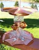 images of Copper Bird Feeders