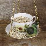 images of Teacup Bird Feeder
