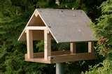 Wooden Bird Feeder images