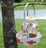 photos of Recycled Bird Feeder