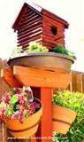 pictures of Bird Bath And Feeder